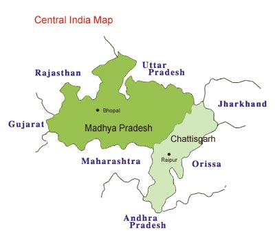 Central India Map | Metro Map | Bus Routes | Metrobus Way Map ...